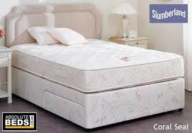 Slumberland Postureflex Coral Seal Divan Bed Set | Best Price