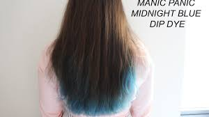 Blue Dip Dye On Light Brown Hair Brown Hair With Blue Dip Dye Find Your Perfect Hair Style