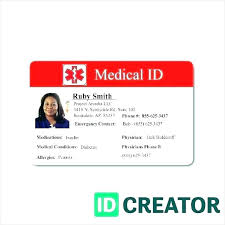 Blank Id Card Templates Vector Doc Free Photo Template