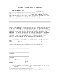 Limited Power Of Attorney Forms Formsited Power Of Attorney Michigan Real Estate State Form For Care 10