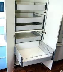 pantry sliding shelf most fashionable pantry sliding shelves cabinet slide out kitchen pull for s caravans