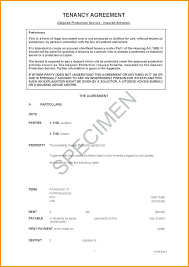 Residential House Lease Agreement Template Format Download Joint ...