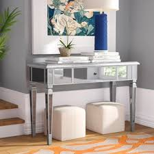 mirror hall table. Loganne Mirrored Console Table Mirror Hall W