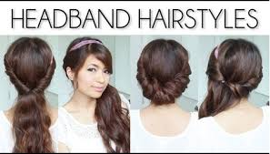 you can play with your hair band too let me show you how hairstyle4