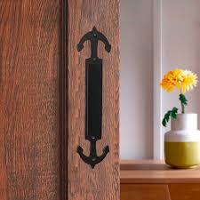 lwzh sliding barn door pull handle sliding closet gate cabinet closet door handle anchor
