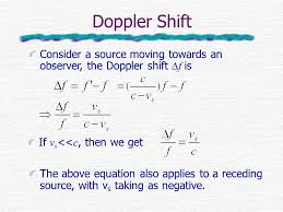 5 doppler shift consider a source moving towards