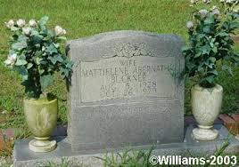 Mattielene Abernathy Buckner - Old Macedonia Cemetery