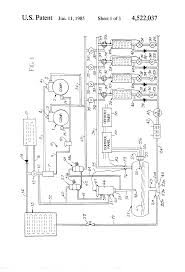 patent us4522037 refrigeration system surge receiver and patent drawing