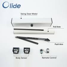 motion sensor automatic swing door opener electric door closer with sensor remote control