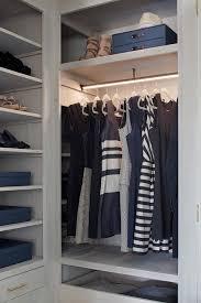custom closet lighting