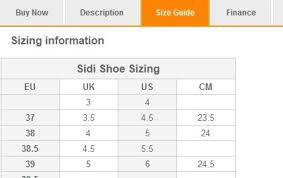 Cycling Shoe Size Chart Sidi Mountain Bike Shoes Size Chart Mountain Bike Wallpaper