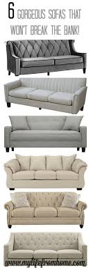 farmhouse style sofa. 6 Gorgeous Sofas That Are Affordable Yet Stylish And Chic. Perfect For Any Space!   Budget Friendly Couches Farmhouse Style Living Spaces Sofa N