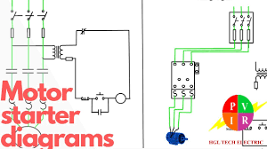 motor starter diagram start stop 3 wire control starting a three phase motor
