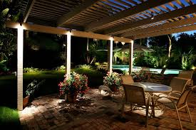 outdoor lighting ideas for patios. Pool With Lights Outdoor Lighting Ideas For Patios