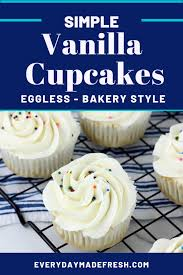 simple vanilla cupcakes everyday made