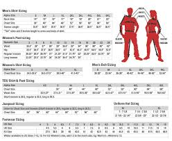 511 Tdu Pants Size Chart Measuring For A Proper Fit Stokes International