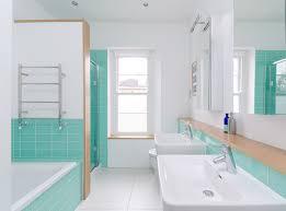 Rivestimenti Bagno Verde Acqua : Colpo di genio motivi per amare il turchese in bagno