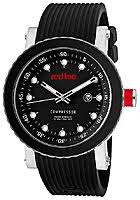red line watches men s compressor black dial black ceramic bezel red line watches men