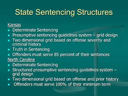 Structured Sentencing Chart Sentencing Structure Comparisons Barb Tombs July 16 2007