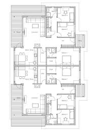House Design Semi Detached House Plan CH121D 20