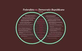 Federalists Vs Democratic Republicans By Kylie Tefft On Prezi