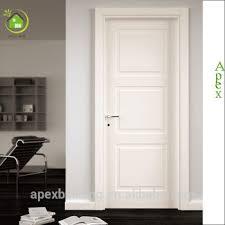 white paint indoor wood door