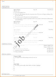 6 Bio Data Form For Job Application Download Cook Resume