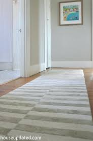 gray and white striped rug 1 blue runner gray and white striped rug