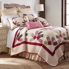 donna sharp cky original lighthouse king quilt source deidre wedding ring patchwork quilt bedding by donna sharp