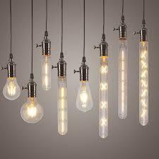 edison bulb pendant lighting. Perfect Bulb Newest Pendant Lights Edison LED Light Bulbs 4W 6W 8W Lamp E27 220V  Home For Bulb Lighting R