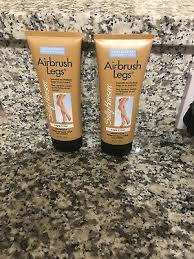 2 x sally hansen airbrush legs lotion fake light tan leg makeup uk seller