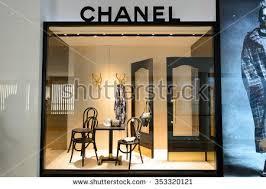chanel storefront. singapore - november 08, 2015: shop window of chanel store. s.a. is storefront s