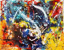 saatchi art artist ine vis dutch dripping artist painting follow your instinct dripping