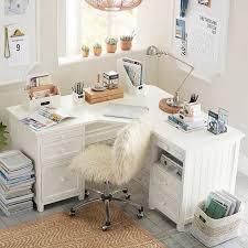 white corner desk. Plain Corner Beadboard Smart Corner Desk Simply White On Desk S