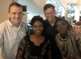The Good Life: Godwin, Cecilia, Jay and me