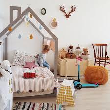 Kids Room: Purple House Kids Bed Design - Kids Bed