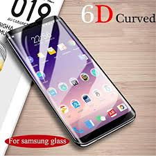 Amazon.com: <b>6D</b> Full <b>Curved</b> Tempered Glass For Samsung Galaxy ...