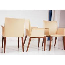 brunner milanosoft meeting chair cream leather chair leather meeting chair