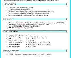 Mobile Developer Resume Mobile Developer Resume Bi Developer Resume Mobile Integration Cover
