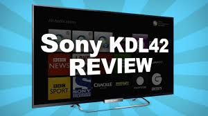 sony tv 42 inch. sony kdl42w653 42-inch hd led 1080p smart tv review (playstation now, netflix, youtube etc) - youtube tv 42 inch