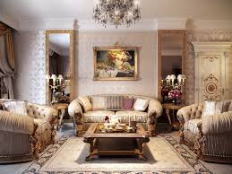 beautiful royal living room design ideas elegant crystal chandelier model unique silver fl pattern wallpaper model