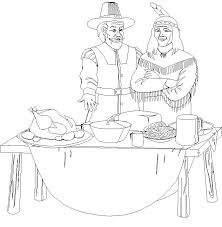 Small Picture free printable thanksgiving feast coloring pages thanksgiving
