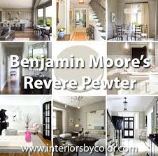 Revere Pewter Exterior Paint Color Jam Rooms Painted In