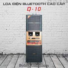 Q-10) LOA ĐIỆN BOBOS 4 TẤC ĐÔI Q-10 – BobosAudio.com