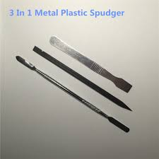 metal spudger. 3 in 1 metal plastic spudger set tools repair opening pry tool kit for iphone/