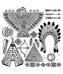 100 American Indian Coloring Pages Eye With Mandala Native