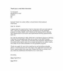 Informational Interview Request Email Cover Letter After Interview Examples Informational Sample