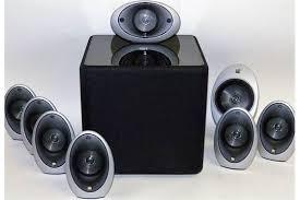 kef egg subwoofer. a kef k1 speaker systemcomprises of eight egg speakers and the kube-1 subwoofer. sold electri kef subwoofer g