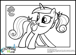 My Little Pony Coloring Pages Google
