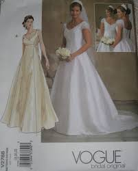 Plus Size Wedding Dress Patterns